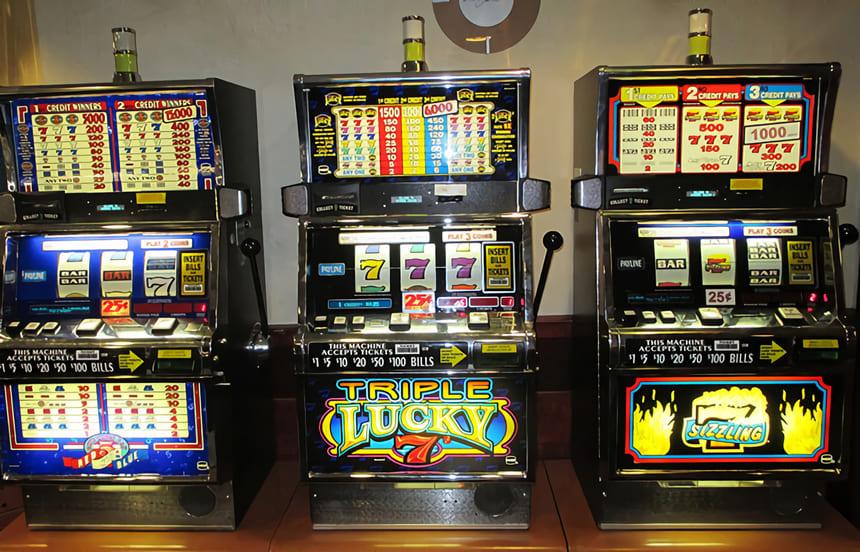 Enarmad bandit på casino